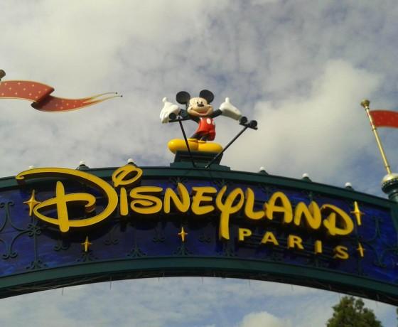Wejście do Disneylandu w Paryżu